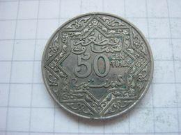 Morocco , 50 Centimes 1921 - Marokko