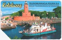 POLAND C-986 Prepaid Magnetic Telekom - Traffic, Boat - Used - Poland
