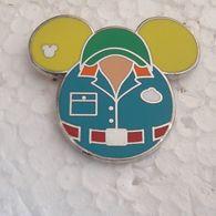 PINS DISNEY TETE MICKEY COSTUME VERT - Disney