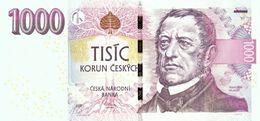 1000 Korun Czech Republic UNC 2008 - Repubblica Ceca
