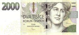2000 Korun Czech Republic UNC 2007 - Tchéquie