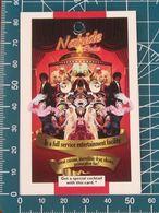 Minicards Nahide Palas Club Istanbul TURCHIA Buono Cocktail - Autres