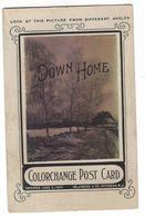 CLA113 - COLORCHANGE POST CARD DEEKS & CO PATERSON NEW JERSEY ABOUT 1920 - Cartes Stéréoscopiques