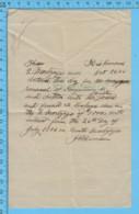 Richmond Quebec -1906 Balance D'hypotheque Fait Par J.R. Denison $1000 ( Papier Filigrane ) - Canada