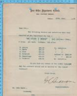 Original - Ministere Des Poste 1913 Au Maire De Richmond Quebec , Salaire, Postillons St-Adrien & Wotton - Autographes