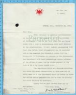 Original ( Filigrane) - Canada Ministère Des Postes 1913 Au Maire De Richmond Quebec ,de L'assistant Députe Des Postes - Autographes