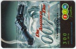THAILAND C-888 Prepaid 1-2-call/AIS - Cinema, James Bond, Die Another Day - Used - Thaïlande