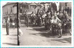 OLD MOTORCYCLE - GRAND-PRIX  Croatian Orig. Old Photo * Motor Motorbike Moto Motorrad Motociclo Motocicleta Motocicletta - Cyclisme