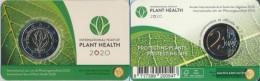Belgium 2020 Stgl./unzirkuliert Reprint: 750.000 2020 2 Euro Year The Pflanzengesundheit - Bélgica