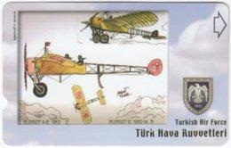TURKEY C-269 Magnetic Telekom - Painting, Military, Historic Aircraft - Used - Turchia