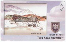 TURKEY C-272 Magnetic Telekom - Painting, Military, Historic Aircraft - Used - Turchia