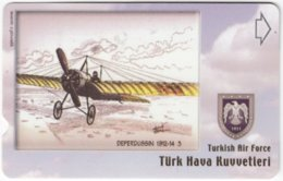 TURKEY C-275 Magnetic Telekom - Painting, Military, Historic Aircraft - Used - Turchia