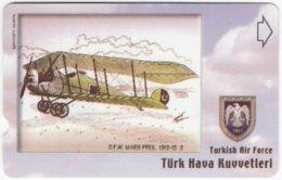 TURKEY C-276 Magnetic Telekom - Painting, Military, Historic Aircraft - Used - Turchia