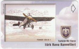 TURKEY C-278 Magnetic Telekom - Painting, Military, Historic Aircraft - Used - Turchia