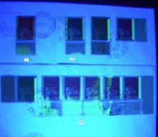 FRANCE 1997 MARIANNE DE LUQUET YT N° 3083/3101b, AVEC GROSSES VARIETES DE PHOSPHO, SUR ENVELOPPES , TB - 1997-04 Marianne Of July 14th