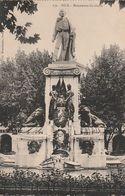 Carte Postale. France. Nice. Monument Garibaldi. Etat Moyen. - Hommes Politiques & Militaires