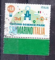2015 PARCO SCIENTIFICO TECNOLOGICO SAN MARINO  USATO - 6. 1946-.. Repubblica