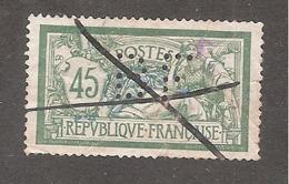 Perforé/perfin/lochung France Merson YT No 143 BF (85) - France