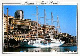 MONACO  -  Grand Voilier  Navire CLUB  MED - Harbor