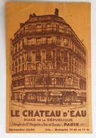 C. P. A. : 75 PARIS 10 : Restaurant Rotisserie LE CHATEAU D'EAU, Place De La République, Alexandre GLON, Animé, En 1934 - Arrondissement: 10