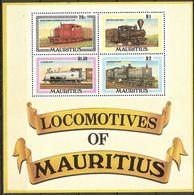 Mauritius 1979 MiNr. (Block 9) Locomotives Transport Traine S\sh MNH** 4,00 € - Mauritius (1968-...)