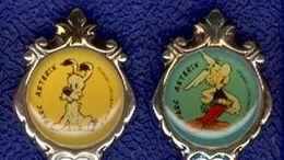 ** CUILLERES  ASTERIX  -  IDEFIX  1995 ** - Asterix & Obelix