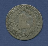 Bayern 10 Kreuzer 1769, König Maximilian Joseph, Fast Sehr Schön (m2635) - [ 1] …-1871 : Estados Alemanes