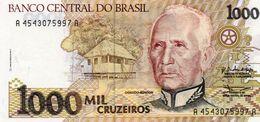 BRAZIL 1000 CRUZEIROS  1990  P-231a   UNC - Brasilien