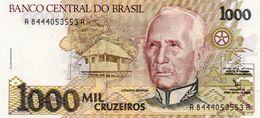 BRAZIL 1000 CRUZEIROS  1991  P-231c   UNC - Brasilien