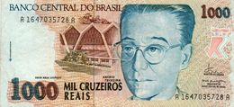 BRAZIL 1000 CRUZEIROS  1993  P-240a   AUNC - Brasilien