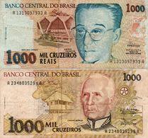 BRAZIL 1000 CRUZEIROS  Circ. - Brasilien