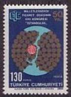 1969 TURKEY XXII. CONGRESS OF INTERNATIONAL CHAMBER OF COMMERCE MNH ** - 1921-... Republic