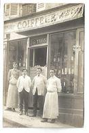 PARIS - Devanture De MAGASIN - Coiffeur G. YVON - 35 Bd Magenta - CARTE PHOTO - Arrondissement: 10
