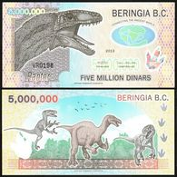 Beringia - 5000000 Dinars 2013 UNC Lemberg-Zp - Banknoten