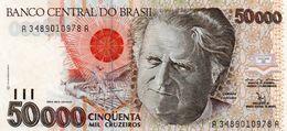 BRAZIL 50000 CRUZEIROS  1992  P-234a   UNC - Brasilien