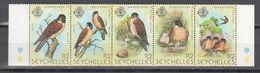 Seychelles 1980,5V In Strip,birds,vogels,vögel,oiseaux,pajaros,uccelli,aves,MNH/Postfris(L3498) - Unclassified