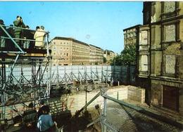 DE-BE: BERLIN: Bernauer Strasse - Animation - Berlin Wall