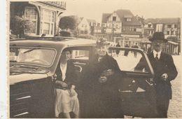 A SITUER , Memling Hotel ? Knocke Knokke ? En 1936 , Foto ,photo , + Auto - Knokke