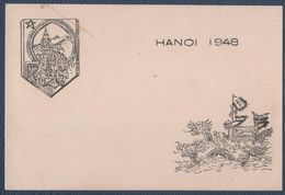 Militaria.Carte De Visite RACM, Hanoï 1948.Tonkin.Indochine. - Non Classificati