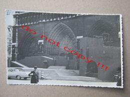 France / Paris - Notre Dame - Summer Stage, Policeman ( Real Photo ) - Notre Dame De Paris