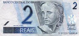 BRAZIL 2 REAIS 2009 P-249h   Vf++ - Brasilien