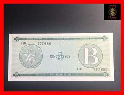 CUBA 5 Pesos 1985  P. FX 7  Serie B    UNC - Kuba