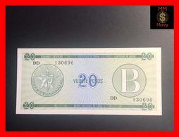 CUBA 20 Pesos 1985  P. FX 9  Serie B  UNC - Kuba