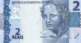 BRAZIL 2 REAIS 2013 P-252a   UNC - Brasilien