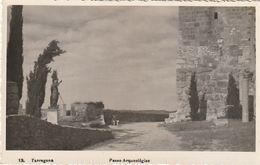 Tarjeta Postal. España. Tarragona. Paseo Arqueológico. Condición Media. - Monumentos