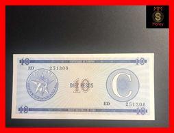 CUBA 10 Pesos 1991  P. FX 22  Serie C   UNC - Kuba