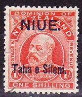 Niue 1903 New Zealand Definitive With Overprint Mi 10 Used O - Niue