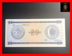 CUBA 20 Pesos 1991  P. FX 23  Serie C  UNC - Kuba