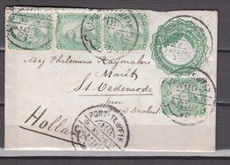 Egypt 1903,cover To Holland(C439) - 1866-1914 Khédivat D'Égypte