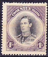 Niue 1938 King George VI. Issue Mi 58 MH * - Niue